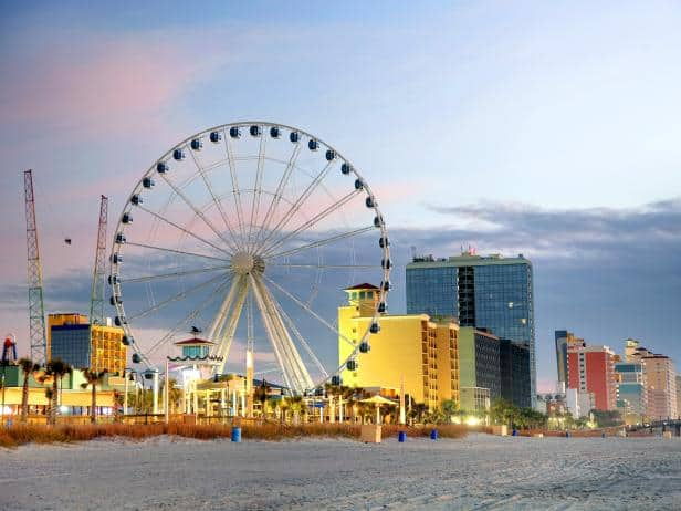 How Far Is North Myrtle Beach From Me