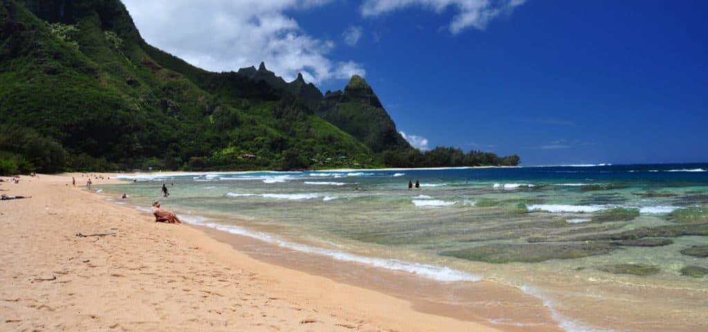 Tunnels Beach, Kauai, Hawaii, Kauai beaches, Hawaii beaches, best beaches of Hawaii, top beaches in Hawaii, beach travel, beach travel destinations
