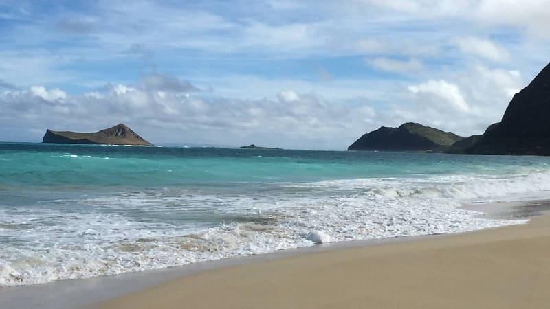 Waimanalo Beach, Oahu, Hawaii, Oahu beaches, Hawaii beaches, best beaches of Hawaii, top beaches in Hawaii, beach travel, beach travel destinations