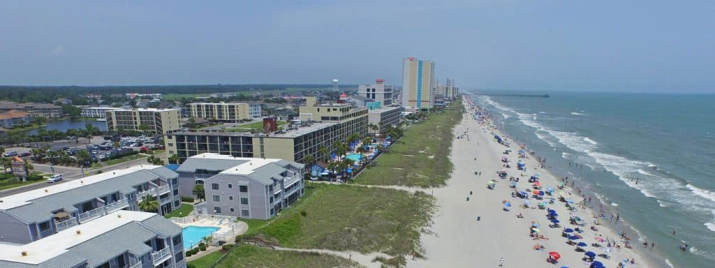 South carolina beaches beach travel destinations for Garden city myrtle beach hotels