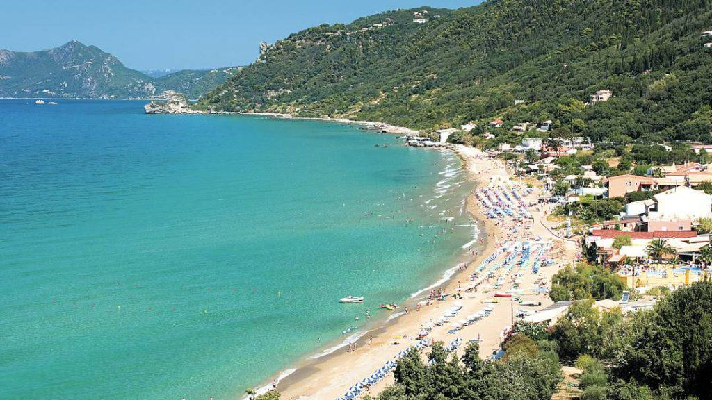 Agios Gordios Beach, Corfu, Ionian Islands, best beaches of the Ionian Islands, best Caribbean beaches