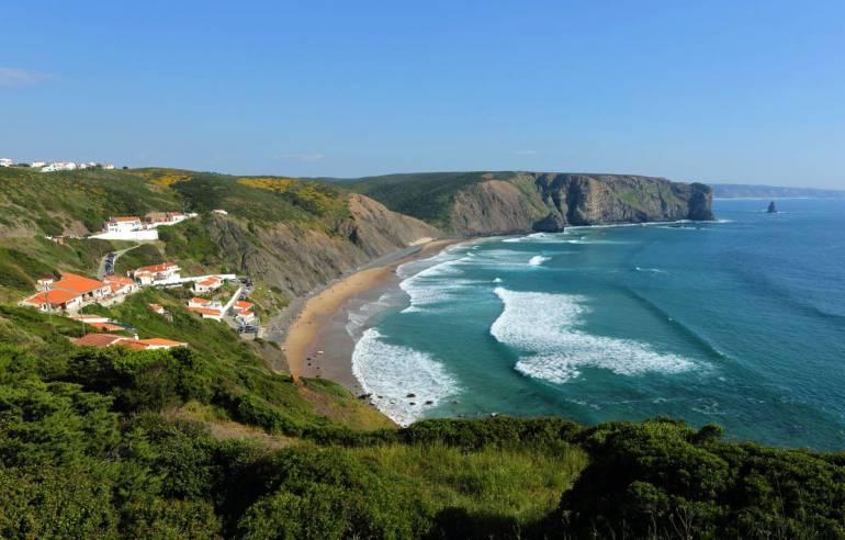 Arrifana Beach, Portugal, best beaches of Portugal, Portugal beaches, best Portugal beaches, beach travel destinations, beach vacation
