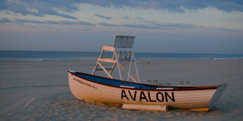 Avalon Beach, New Jersey, Best New Jersey beaches, New Jersey beaches, beach travel destinations, beach vacations