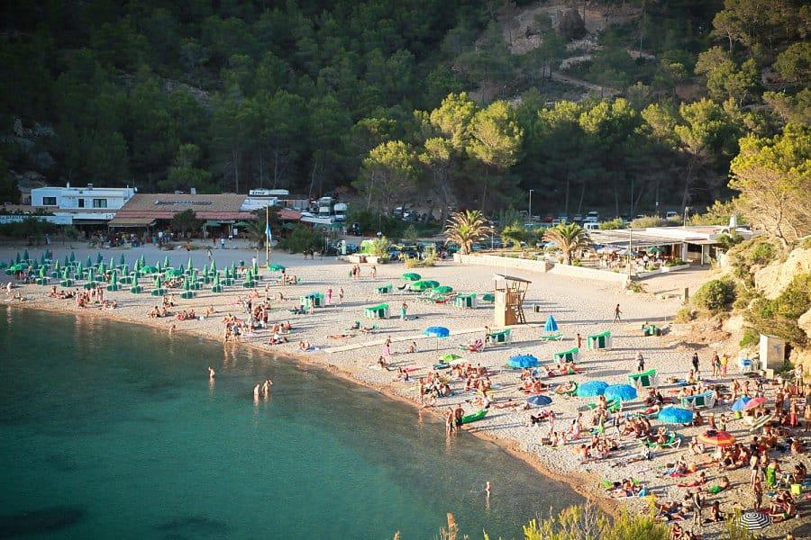Benirras Beach, Ibiza, Ibiza beaches, Balearic Island beaches, best beaches of the Balearic Islands.