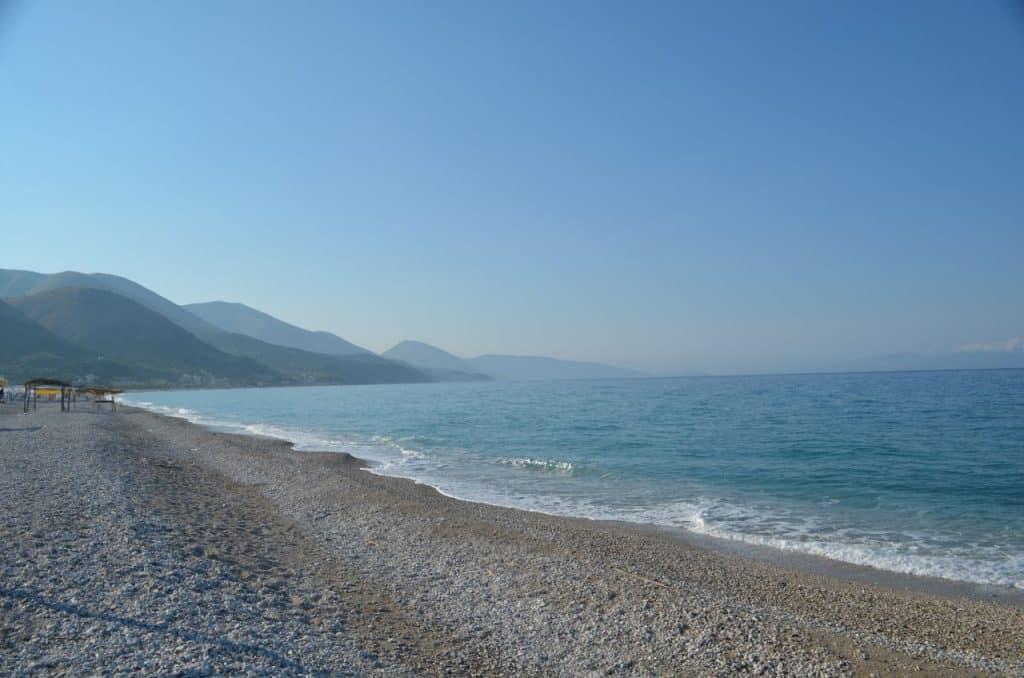 Borsh Beach, Albania