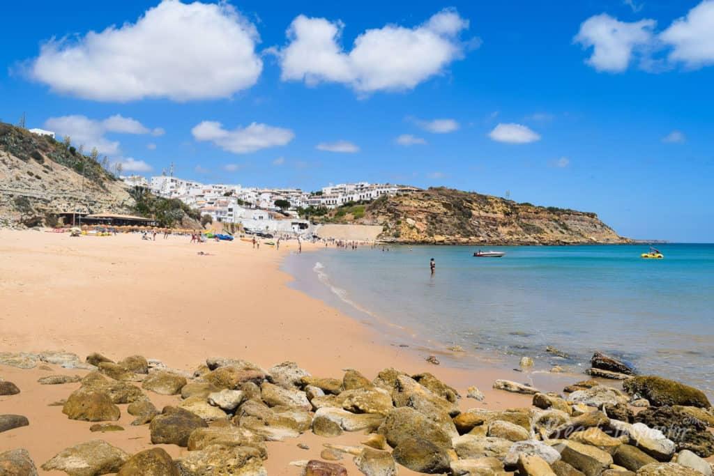 Burgau Beach, Portugal, best beaches of Portugal, Portugal beaches, best Portugal beaches, beach travel destinations, beach vacation