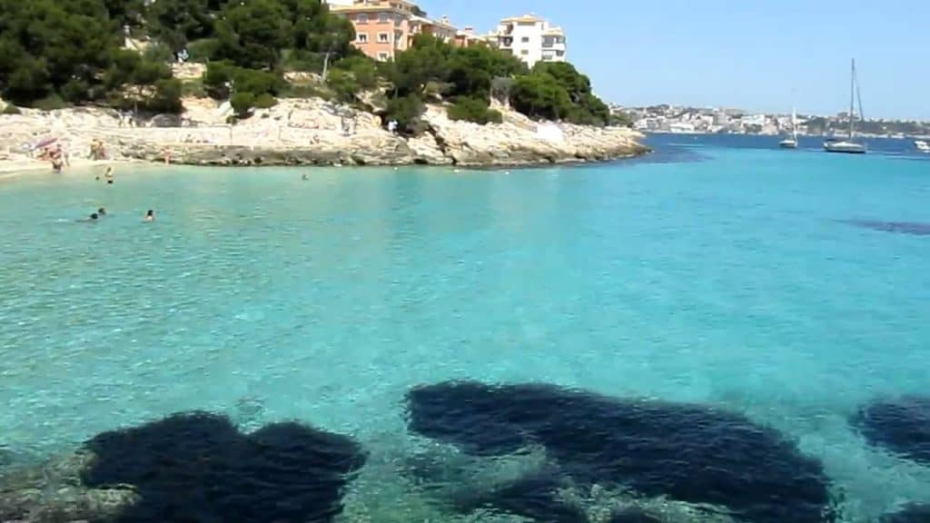 Calla Comtessa, Mallorca, Mallorca beaches, Balearic Island beaches, best beaches of the Balearic Islands.