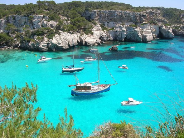 Cala Macaretta, Menorca, Menorca beaches, Balearic Island beaches, best beaches of the Balearic Islands.