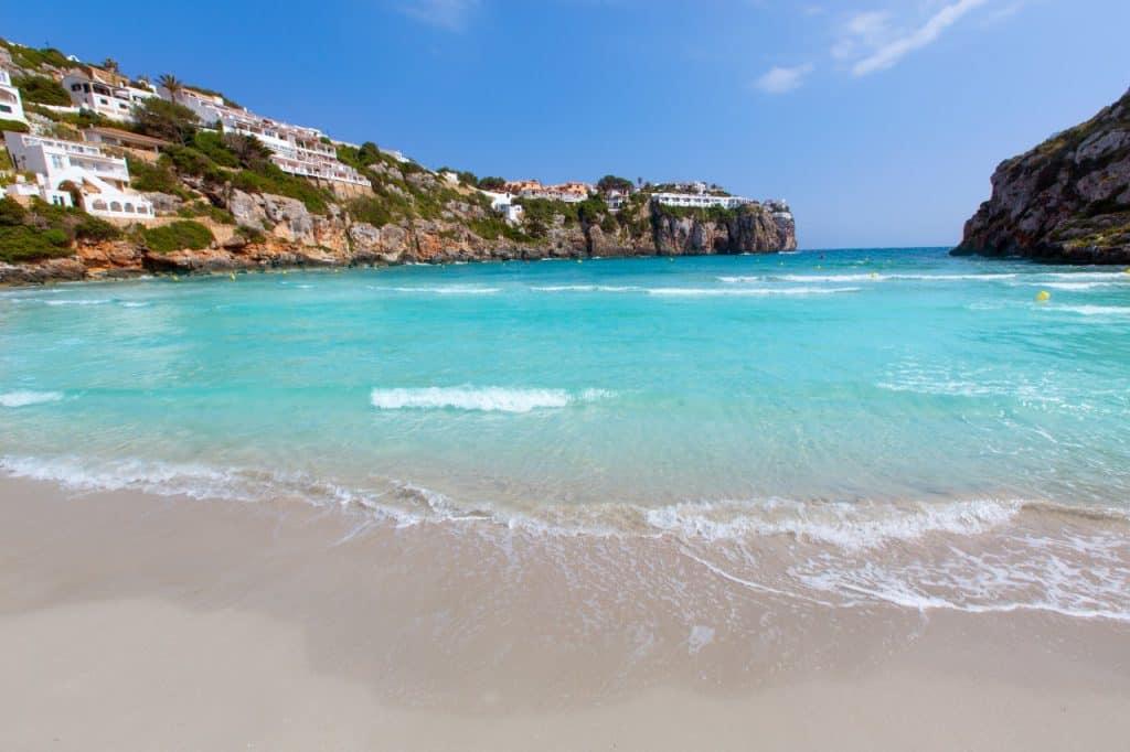 Cala Turqueta, Menorca, Menorca beaches, Balearic Island beaches, best beaches of the Balearic Islands.