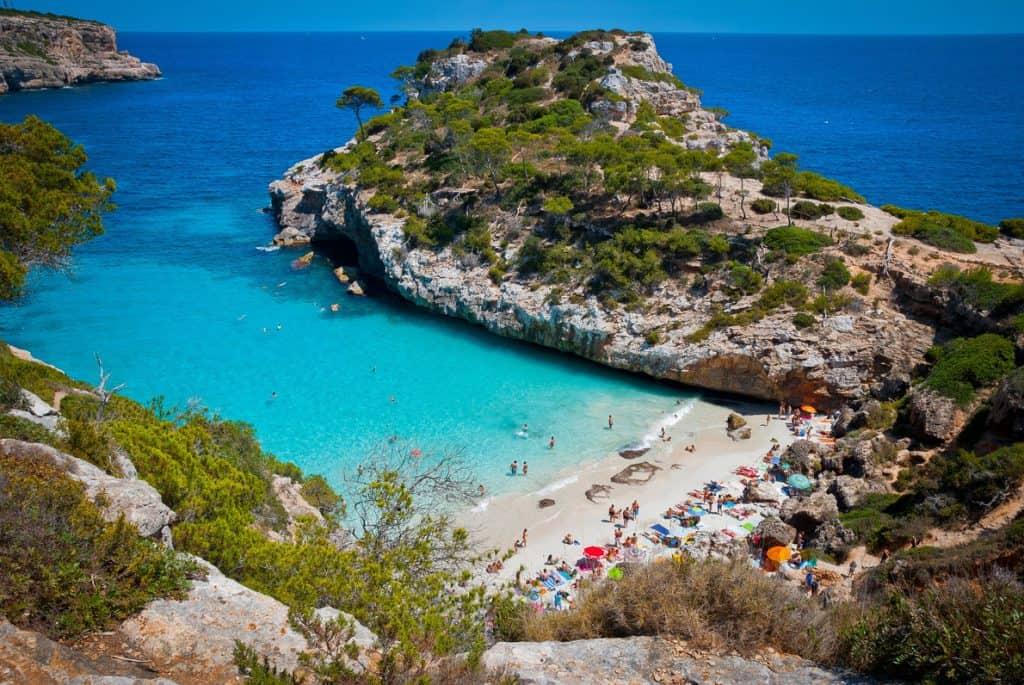 Calo des Moro, Mallorca, Spain