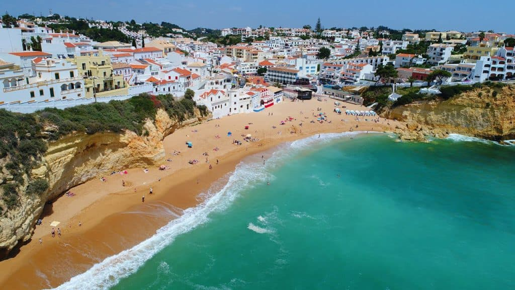 Carvoeiro Beach, Portugal, best beaches of Portugal, Portugal beaches, best Portugal beaches, beach travel destinations, beach vacation