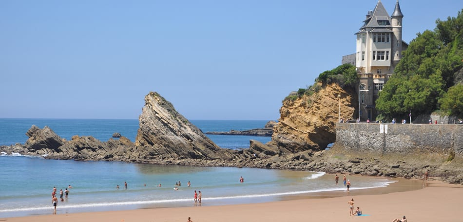 Cote des Basques Beach, France