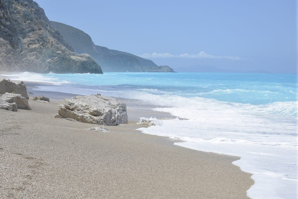 Egremni Beach, Ionian Islands, best beaches of the Ionian Islands, best Caribbean beaches