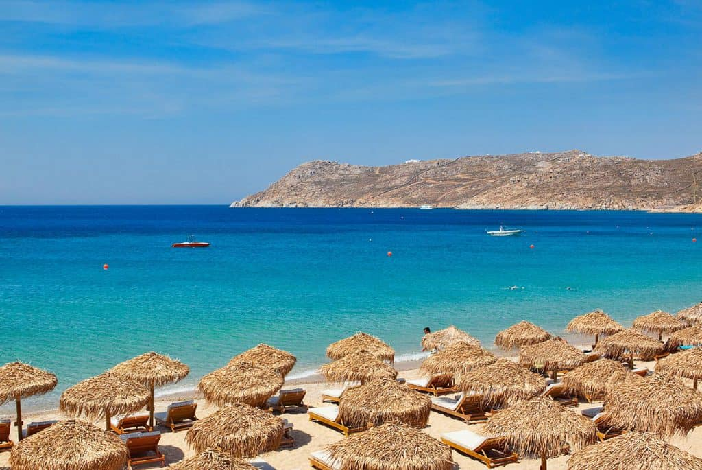 Elia Beach, Mykonos, Cyclades Islands, Cyclades Travel, best beaches of Cyclades Islands, Cyclades Islands best beaches