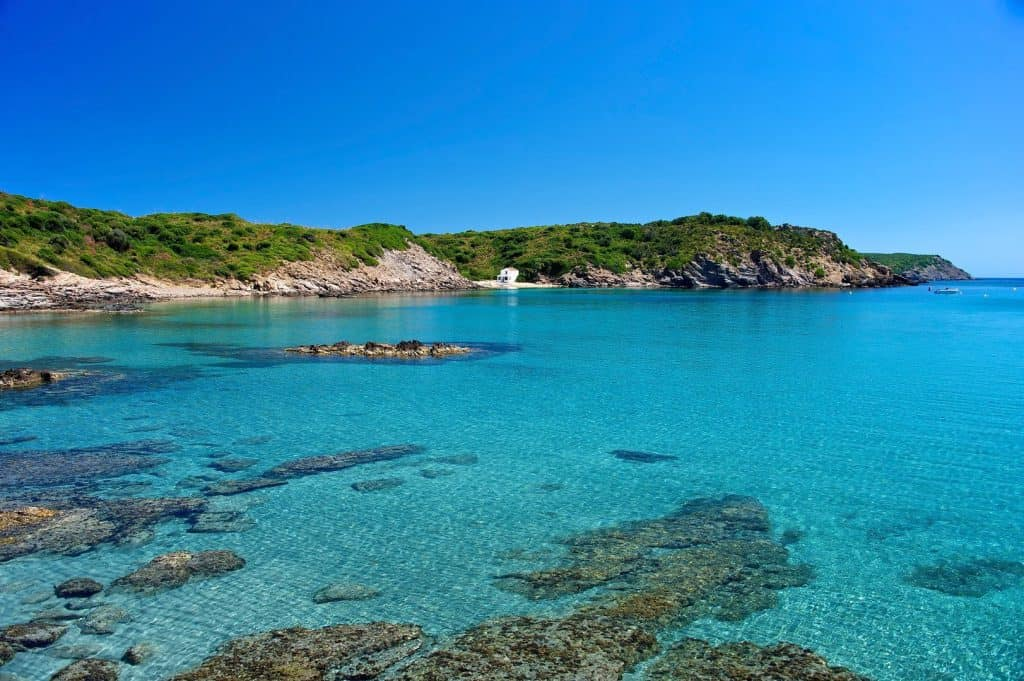 Es Grau, Menorca, Menorca beaches, Balearic Island beaches, best beaches of the Balearic Islands.