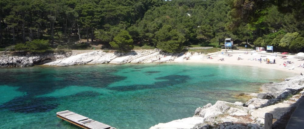 Kandarola Palit Beach, Frkanj Peninsula, Rab, Croatia, Croatia beaches, best beaches of Europe, beaches of Europe, Croatia Beach holidays, beach travel destinations,