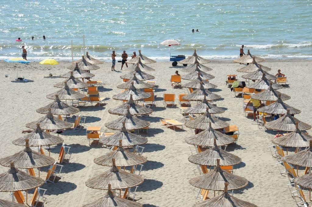 Golem Beach, Albania