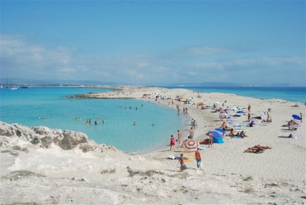 Illetes Formentera, Formentera beaches, Balearic Island beaches, best beaches of the Balearic Islands.