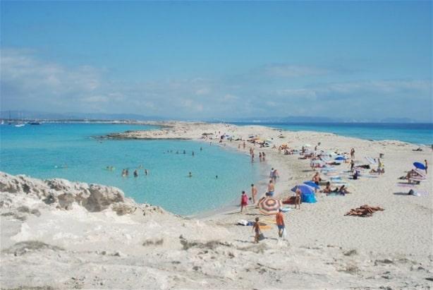 Illetes Formentera, Formentera beaches, Balearic Island beaches, best beaches of the Balearic Islands.