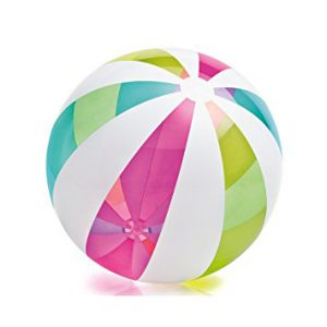 Best beach toys, best beaches, beach vacation, beach travel destination, best toys for the beach, Intex Oversize Giant Beach Ball, 42 inch Diameter