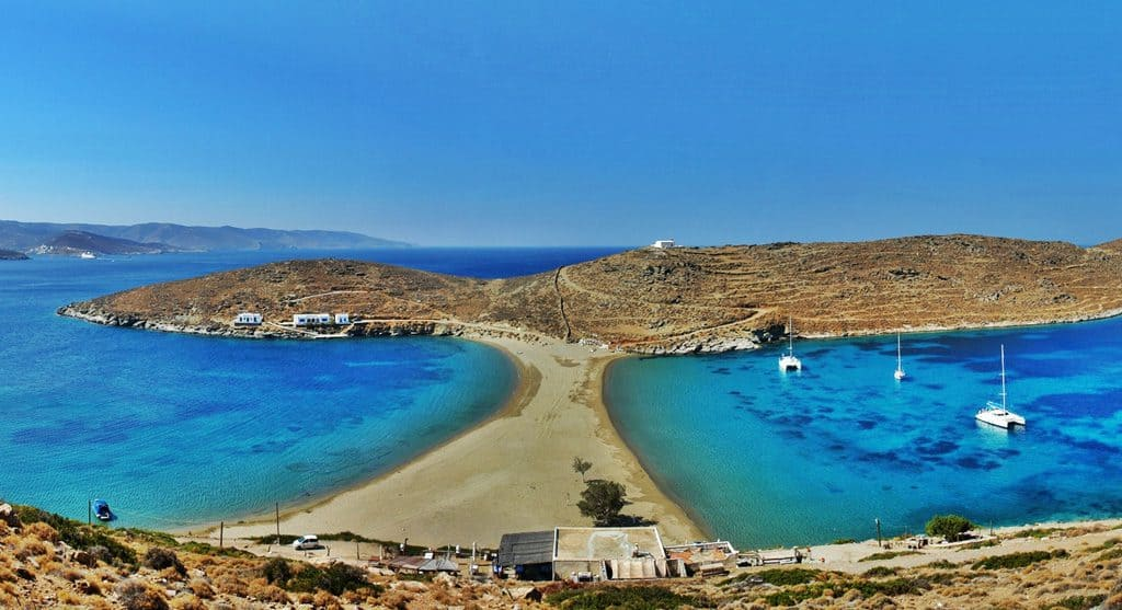 Kolona Beach, Kythnos, Cyclades Islands, Cyclades Travel, best beaches of Cyclades Islands, Cyclades Islands best beaches