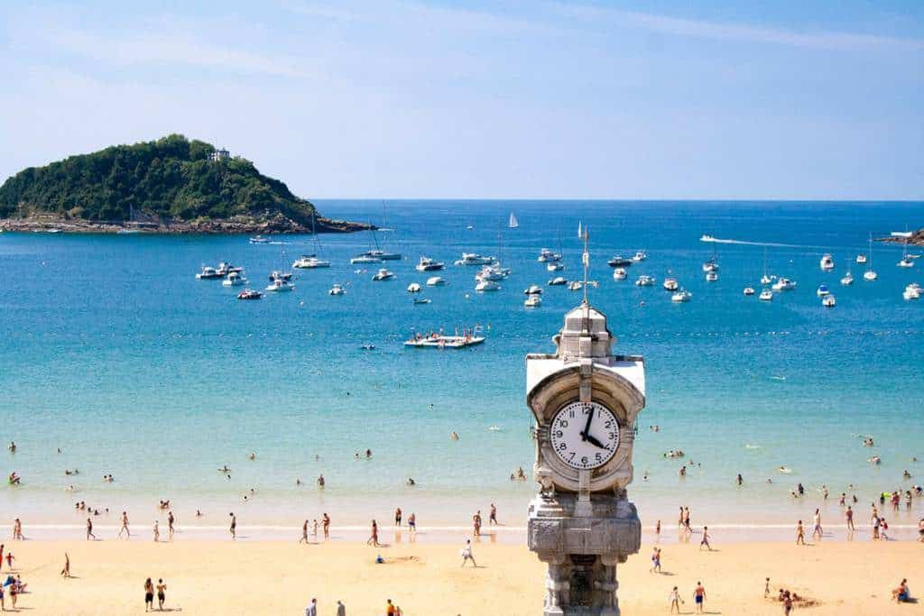 La Concha Beach, San Sebastian, Spain, Spain Beaches, best Spain Beaches, beach travel destinations, beach travel, beach vacations,