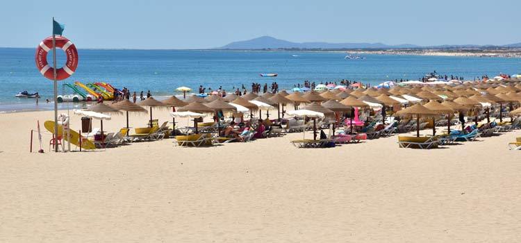 Monte Gordo Beach, Gordo Beach, Portugal, best beaches of Portugal, Portugal beaches, best Portugal beaches, beach travel destinations, beach vacation