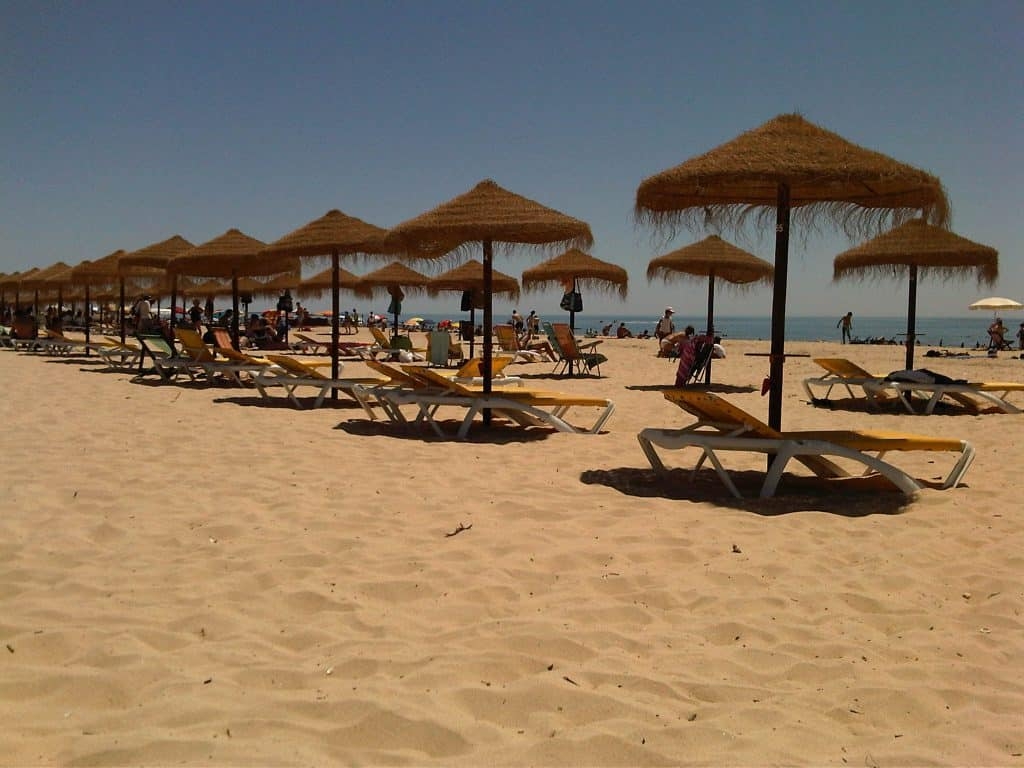 Monte Gordo Beach