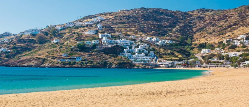 Mylopotas Beach, Ios, Greece, best beaches of Greece, best beaches in Greece, Greece beaches, beach travel destinations