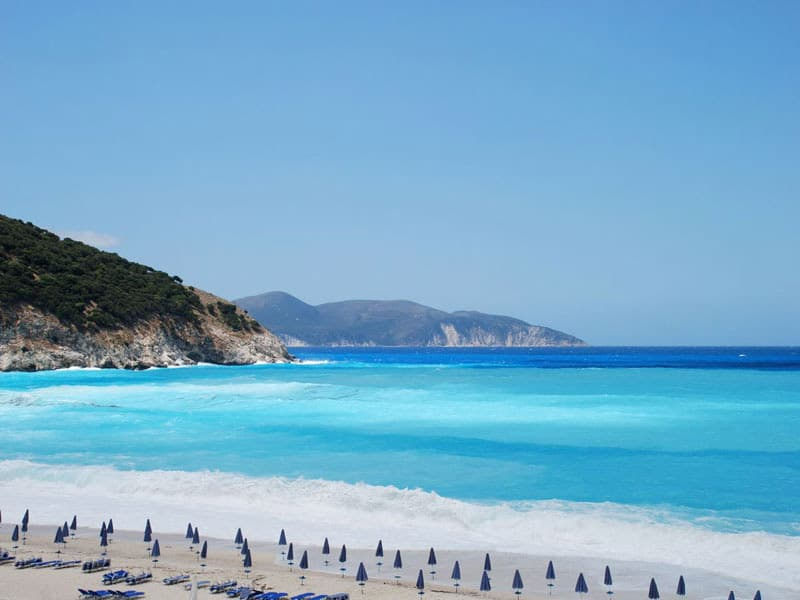 Myrtos Beach, Ionian Islands, best beaches of the Ionian Islands, best Caribbean beaches