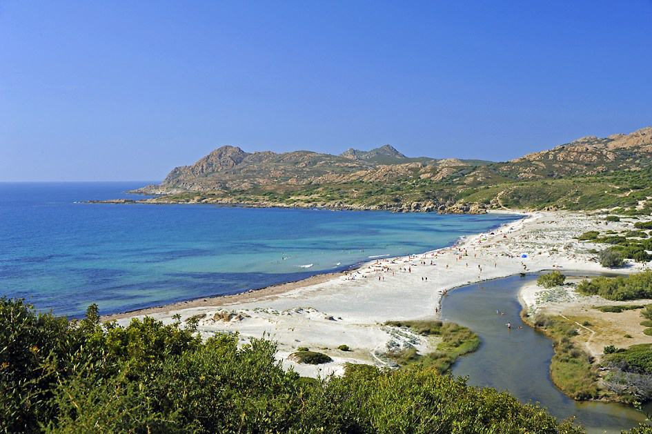 Ostriconi Beach, Corsica, best beaches of Corsica, Corsica beaches, best beaches in Corsica, beach travel destinations
