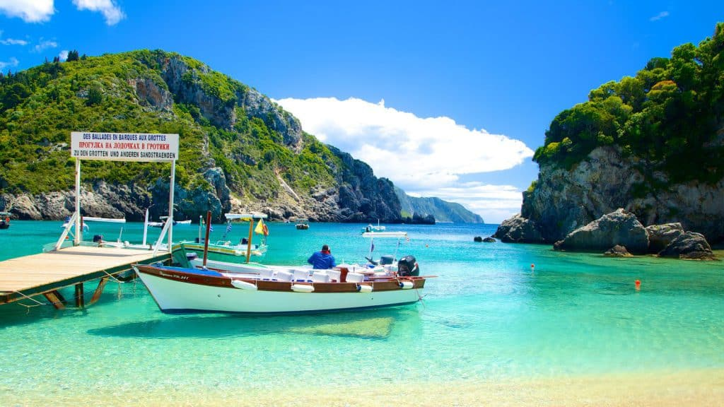 Paleokastritsa Beach, Corfu, Ionian Islands, best beaches of the Ionian Islands, best Caribbean beaches