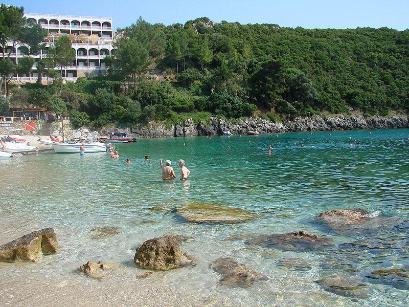 Paleokastritsa Beach