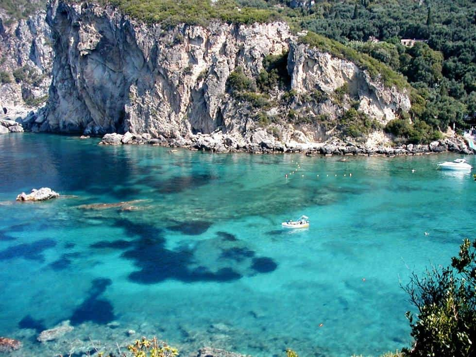Paleokastritsa, Corfu, Greece, best beaches of Greece, best beaches in Greece, Greece beaches, beach travel destinations