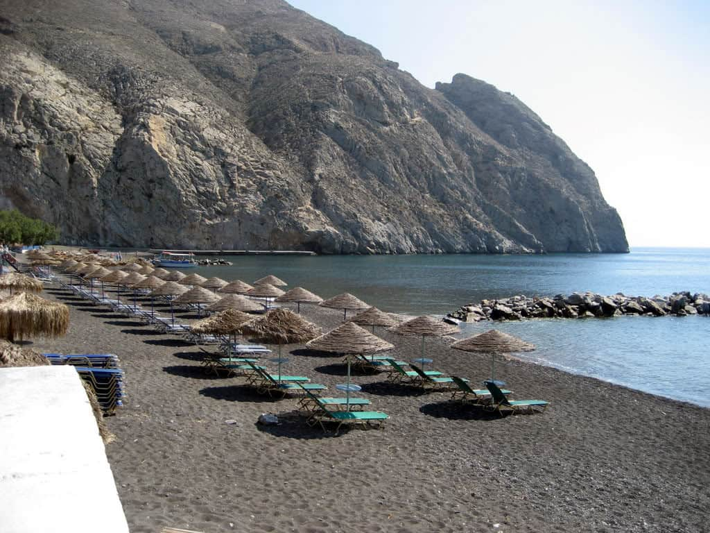Perissa Beach, Santorini, Greece, best beaches of Greece, best beaches in Greece, Greece beaches, beach travel destinations