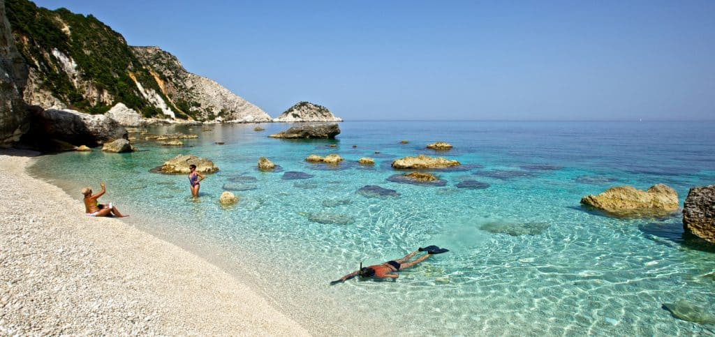 Petani Beach, Kefalonia, Ionian Islands, best beaches of the Ionian Islands, best Caribbean beaches