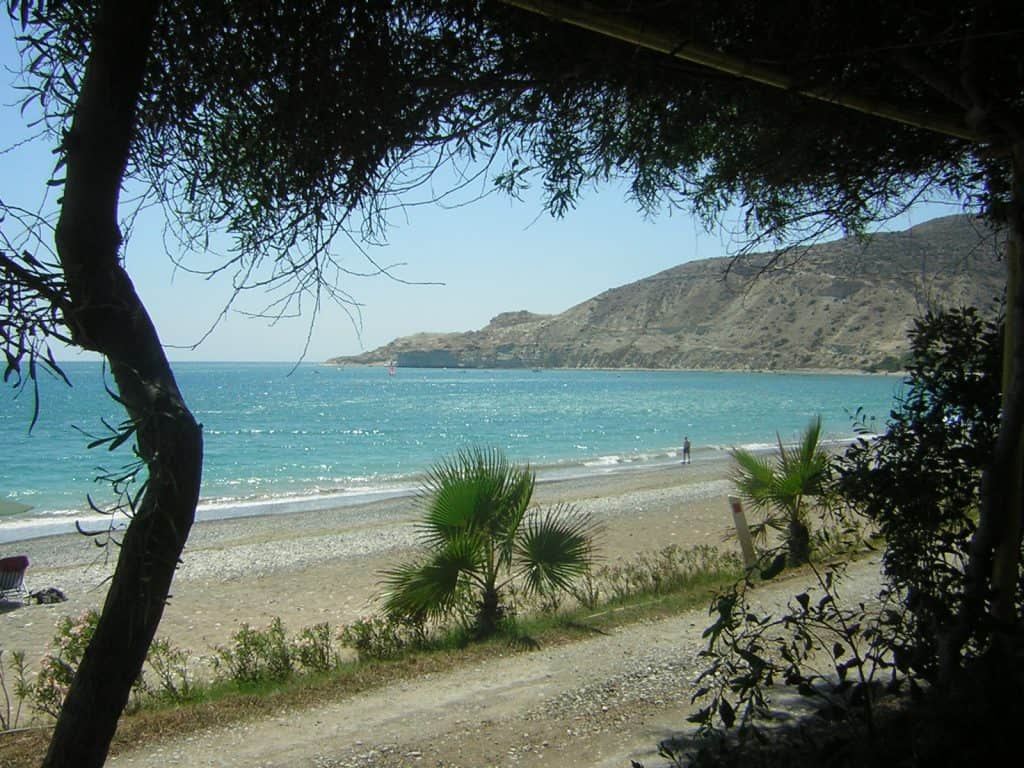 Pissouri Beach, Cyprus