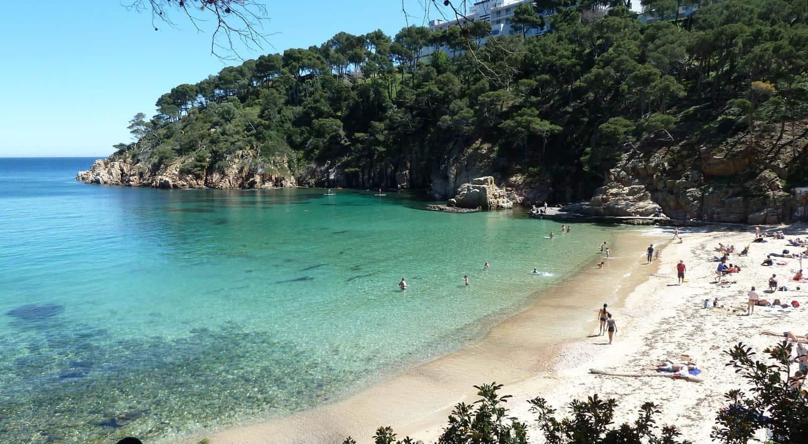 Best spain beaches beach travel destinations - Aiguablava piscina natural ...