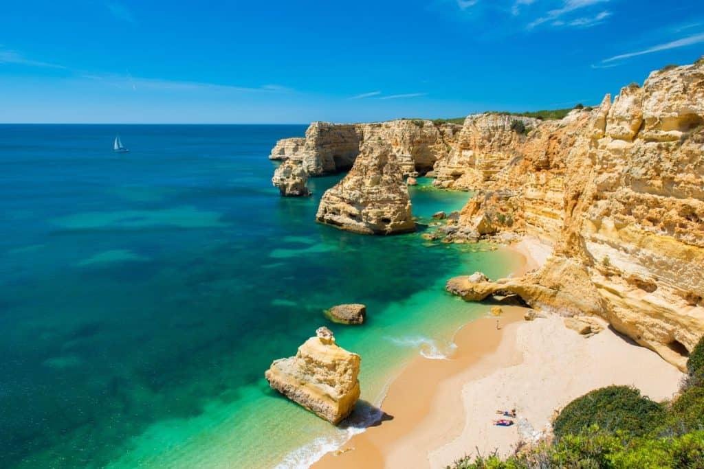Praia Marinha Beach, Portugal