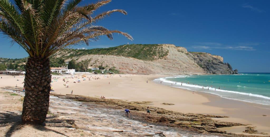 Praia da Luz Beach, Portugal, best beaches of Portugal, Portugal beaches, best Portugal beaches, beach travel destinations, beach vacation