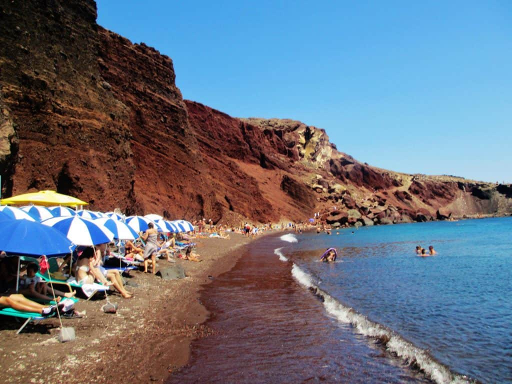 Red Beach, Santorini, Cyclades Islands, Cyclades Travel, best beaches of Cyclades Islands, Cyclades Islands best beaches
