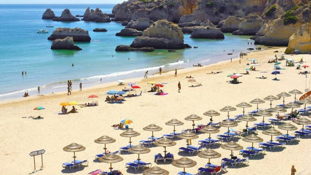 Rocha Beach, Portugal, best beaches of Portugal, Portugal beaches, best Portugal beaches, beach travel destinations, beach vacation