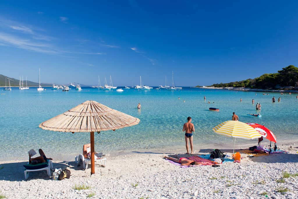 Sakarun Beach, Dugi Otok, Croatia, Croatia beaches, best beaches of Europe, beaches of Europe, Croatia Beach holidays, beach travel destinations,