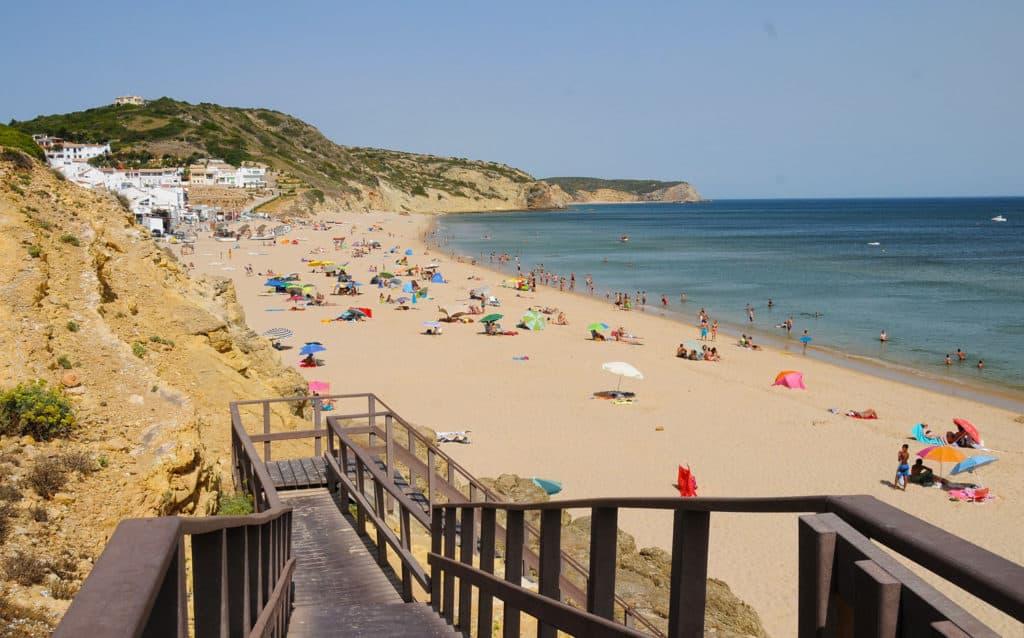 Salema Beach, Portugal, best beaches of Portugal, Portugal beaches, best Portugal beaches, beach travel destinations, beach vacation