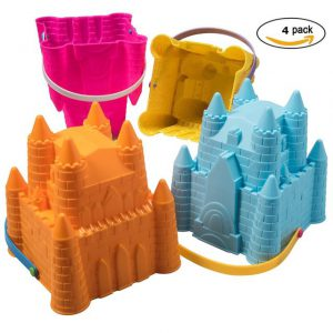 Best beach toys, best beaches, beach vacation, beach travel destination, best toys for the beach, ToyZe® Sand Castle Pail Buckets