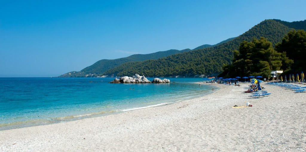 Stafylo Beach, Skopelos, Greece, best beaches of Greece, best beaches in Greece, Greece beaches, beach travel destinations