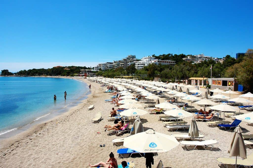 Vouliagmeni Beach, Athens, Greece, best beaches of Greece, best beaches in Greece, Greece beaches, beach travel destinations