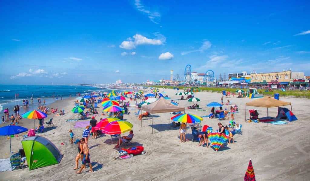 Wildwood Beach, New Jersey, Best New Jersey beaches, New Jersey beaches, beach travel destinations, beach vacations