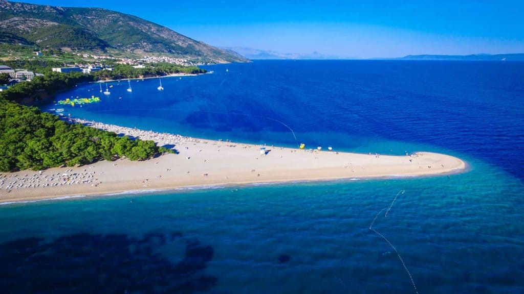 Zlatni Rat Bol, Brac Island, Croatia, Croatia beaches, best beaches of Europe, beaches of Europe, Croatia Beach holidays, beach travel destinations,