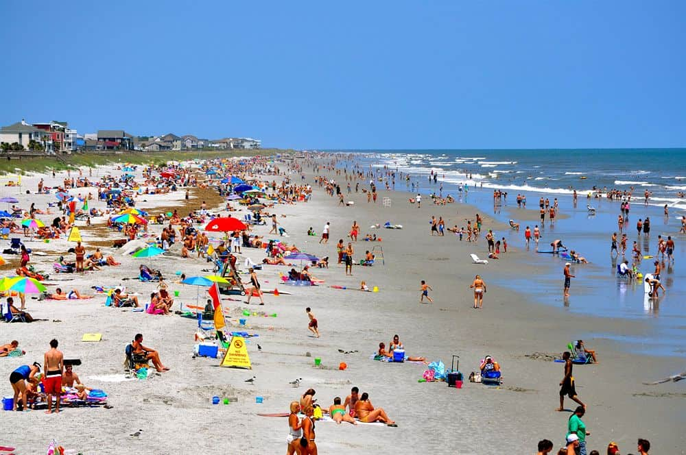 Folly Beach, Charleston North Carolina, Sanibel Florida, Best East Coast Beaches, best beaches, North Carolina Beaches, Beach Travel Destinations